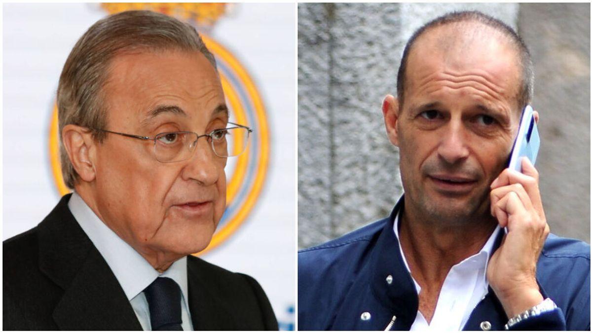 Allegri es el elegido de Florentino para sustituir a Zidane.