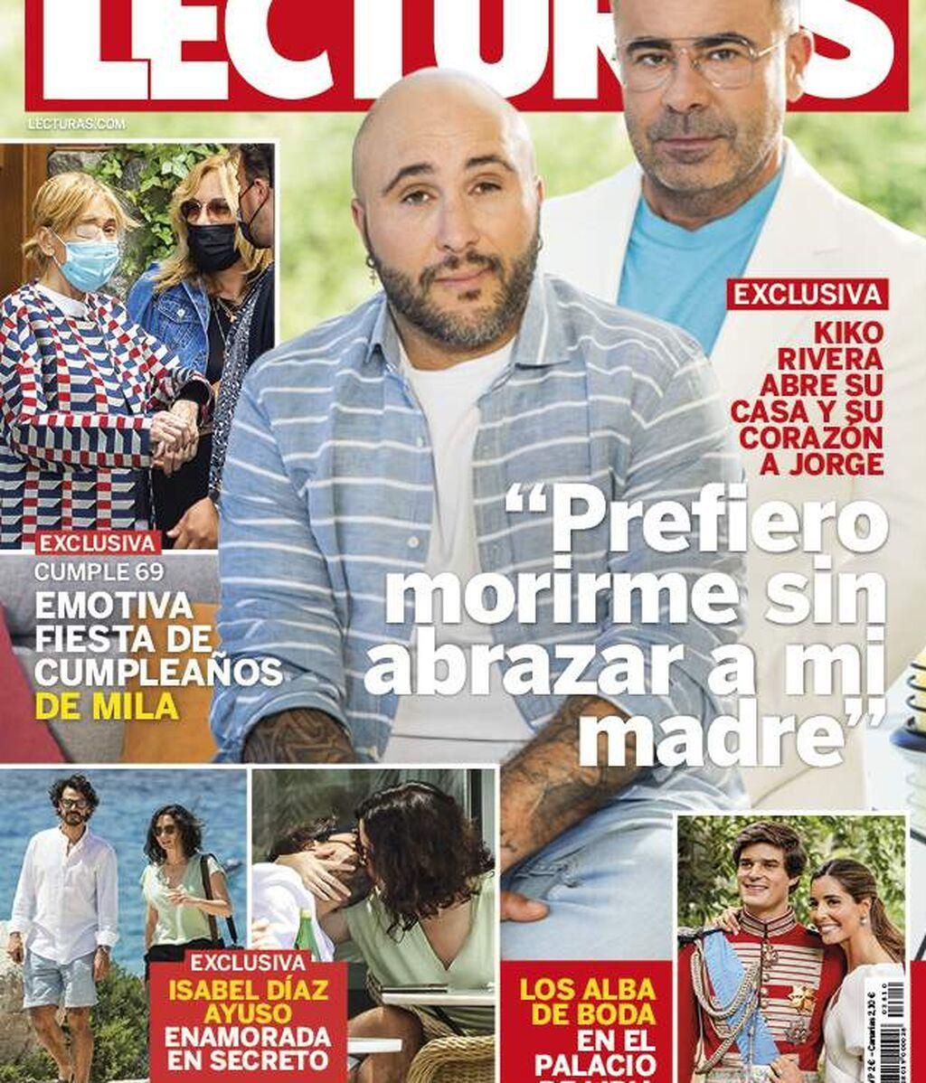 Isabel Díaz Ayuso y su nueva pareja, en la portada de una revista con su nueva pareja