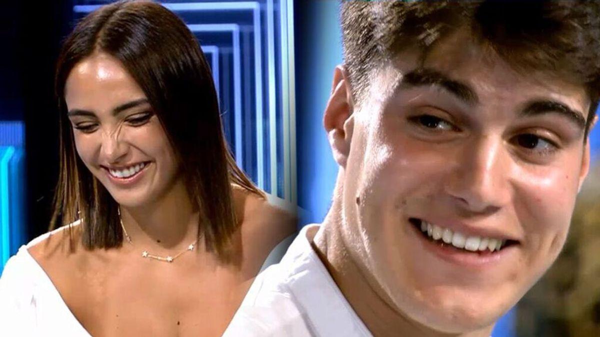 Julen y Sandra Pica: las otras veces que el extronista de 'MyH' se enamoró en un plató de televisión