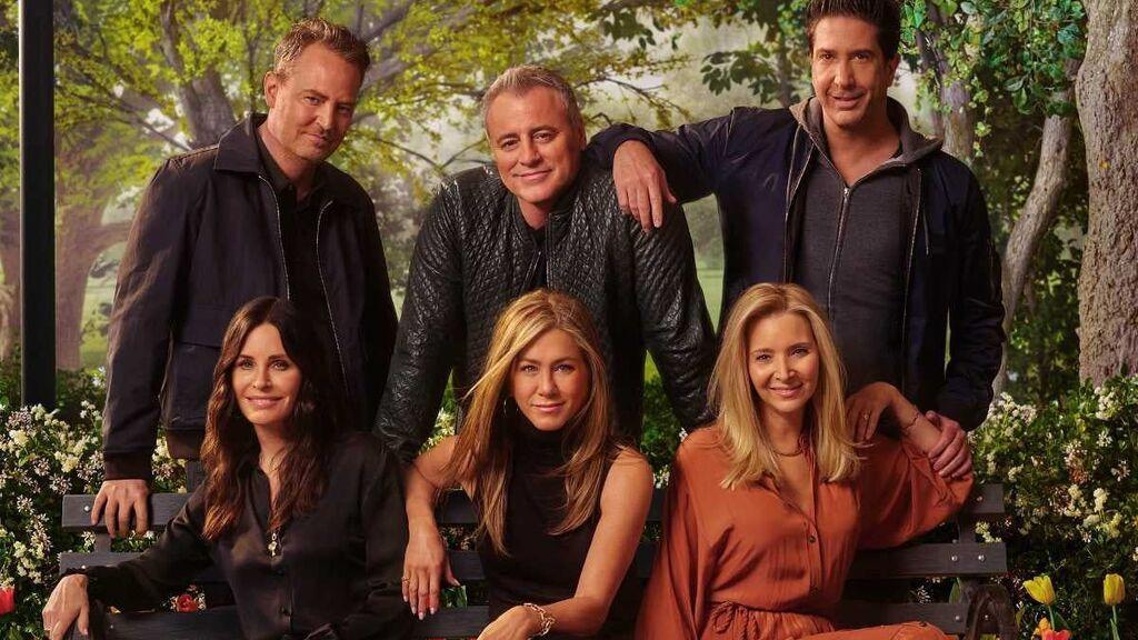 Cartel oficial de 'Friends: The Reunion'