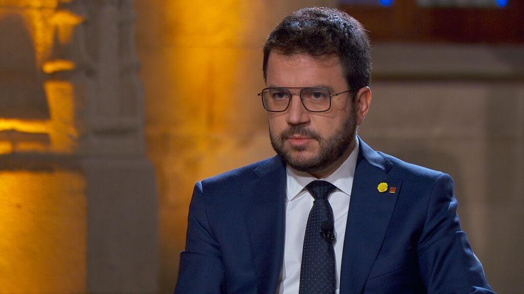 """Aragonès, president del Govern, propondrá reducirse el sueldo un 15 % porque """"hay que hacer un esfuerzo por parte de todos"""""""