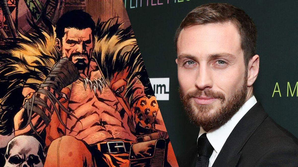 """Confirmada la nueva película de Marvel """"Kraven el Cazador"""", protagonizada por Aaron Taylor-Jhonson"""