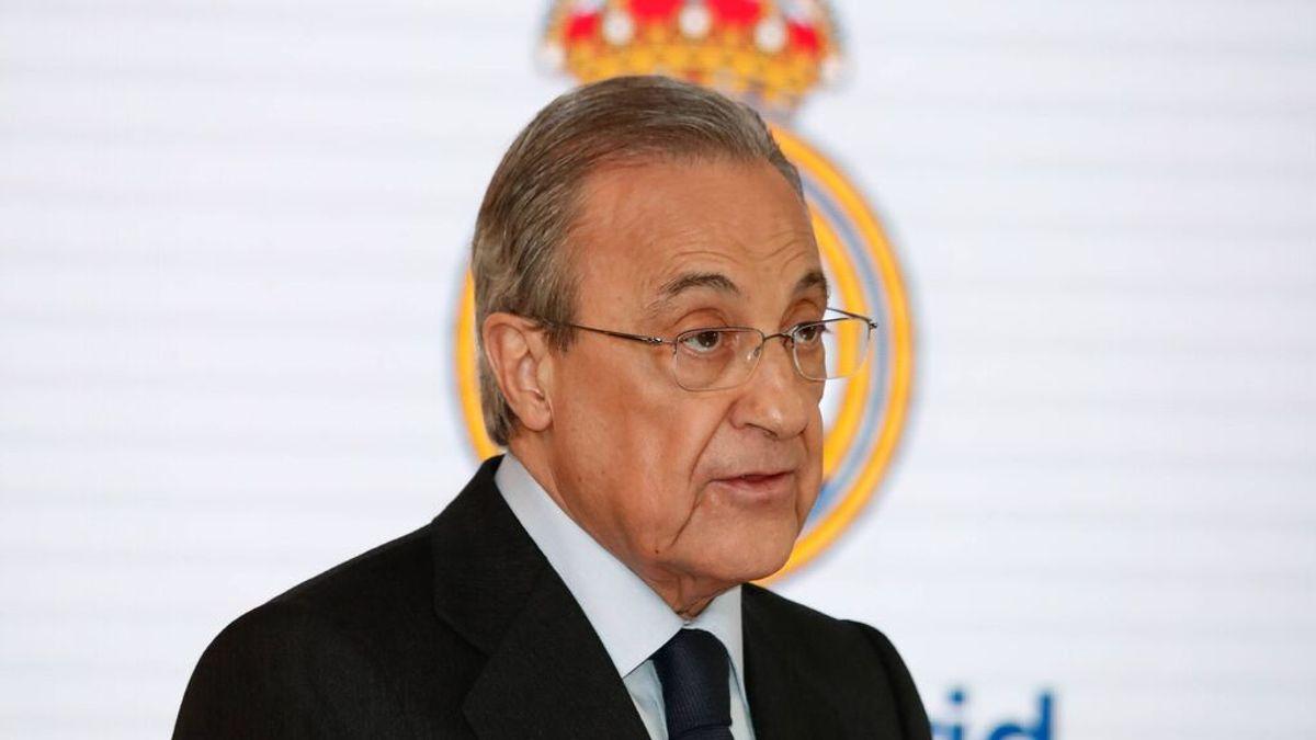 El verano más complicado de Florentino Pérez en el Real Madrid: Sin Zidane, con la duda de Mbappé y bajo la amenaza de la UEFA