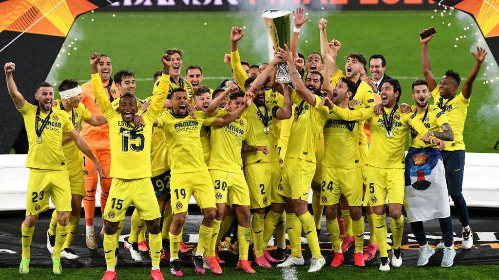 El Villarreal hace historia al proclamarse campeón de la Europa League ante el Manchester United