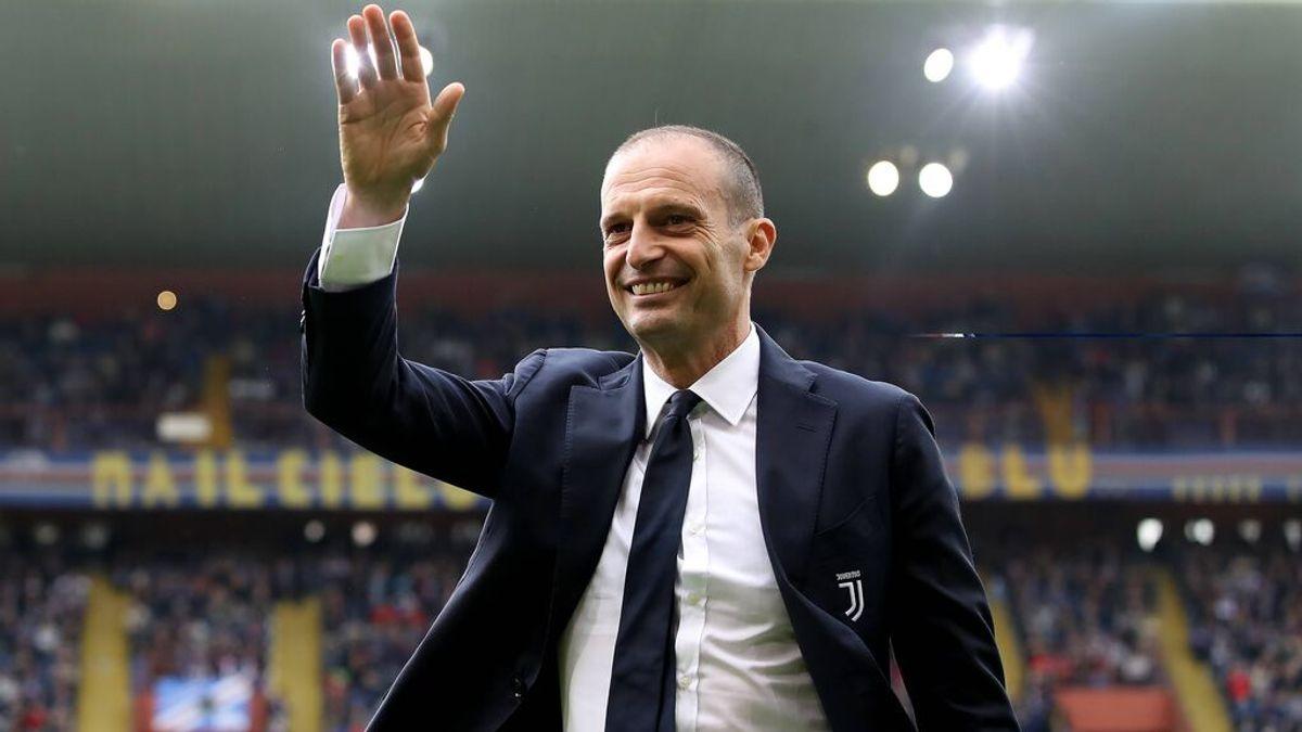 Allegri era uno de los candidatos a sustituir a Zidane.