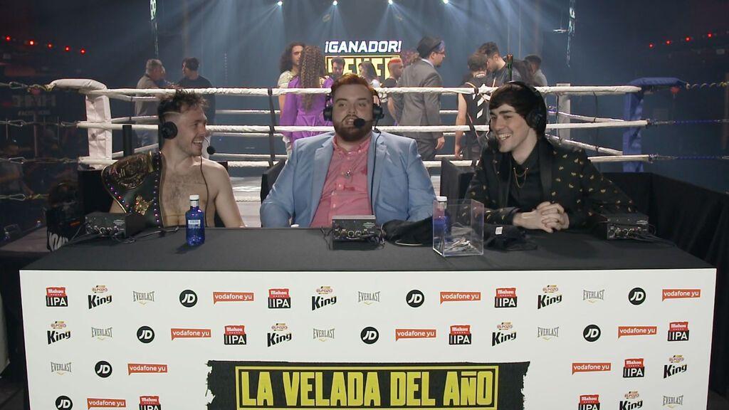 Datos de audiencia y curiosidades sobre la velada de boxeo organizada por Ibai Llanos