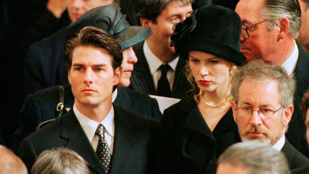 Nicole Kidman acudió al funeral junto a Tom Cruise.