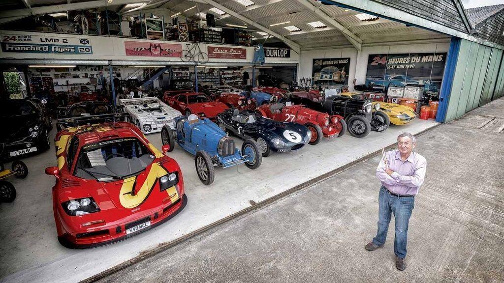 Garaje coches Mason