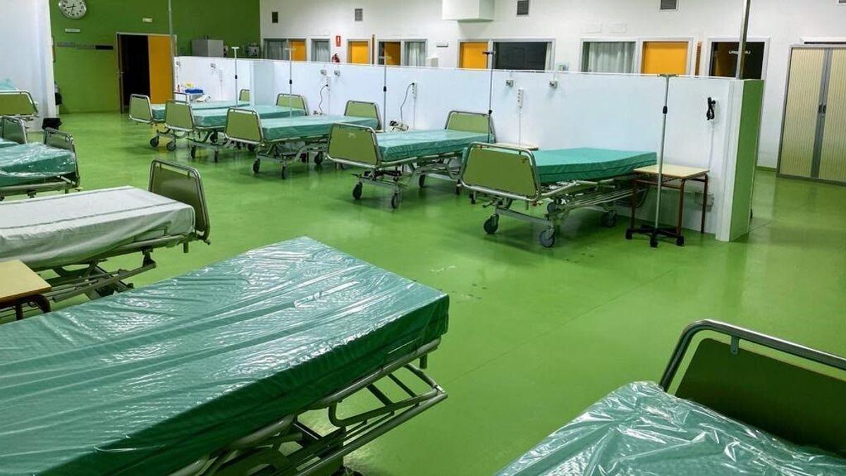 Extremadura, cerca de no tener hospitalizados por covid tras reducirlos un 96% en cuatro meses