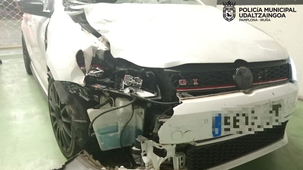 Un joven de 32 años muere atropellado en Pamplona por un conductor drogado que se dio a la fuga