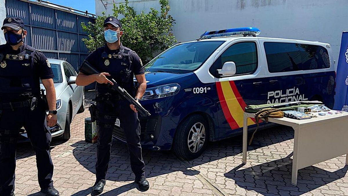 Detenido el presunto autor de los disparos contra un furgón policial en los disturbios de La Línea de la Concepción