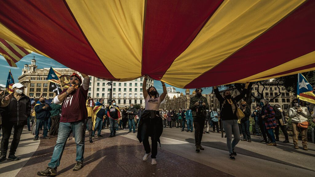 La independencia sigue perdiendo apoyo en Cataluña, según el 'CIS catalán'