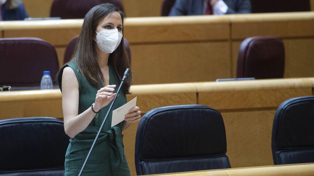 """Belarra propone que los cargos electos de Podemos no dimitan si son procesados en casos de """"acoso judicial"""""""