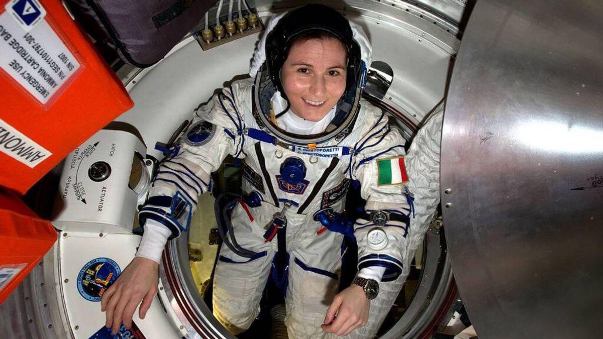 La astronauta de la ESA Samantha Cristoforetti, primera mujer comandante de la Estación Espacial Internacional