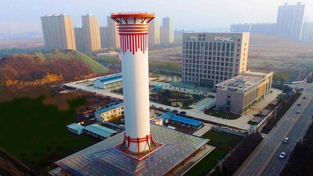 TORRES DE SUCCIÓN CO2 EN CHINA