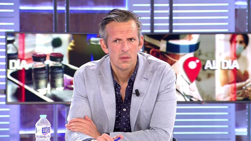 Joaquín Prat carga contra el Ministerio de Sanidad