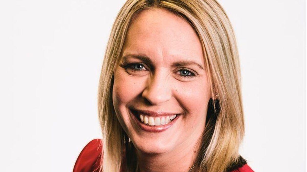Lisa Shaw, locutora de la BBC