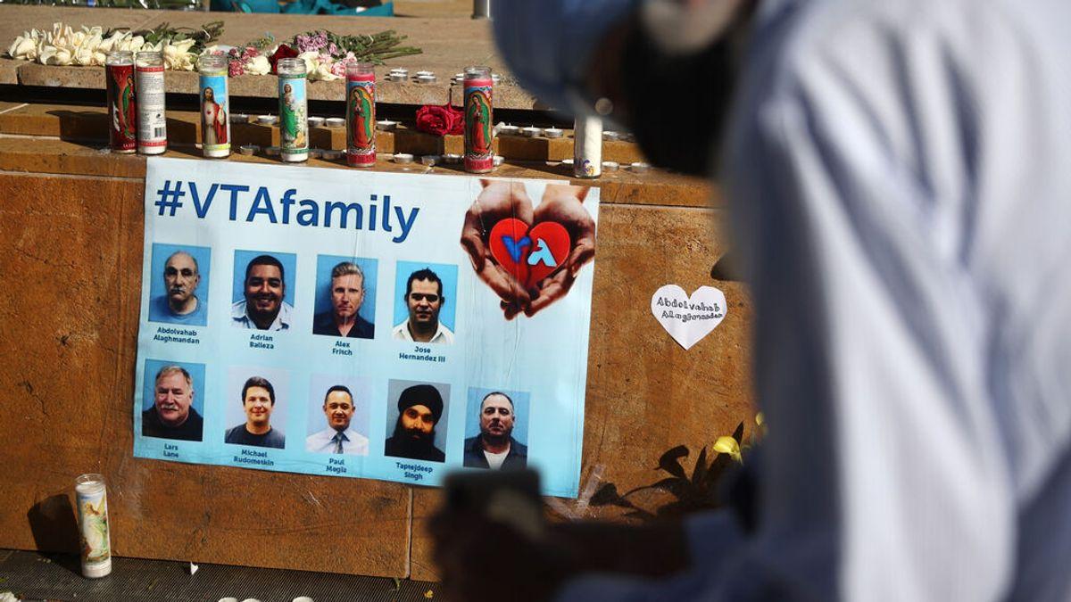 Tiroteo en el patio de trenes de California: lo que sabemos sobre las 9 víctimas