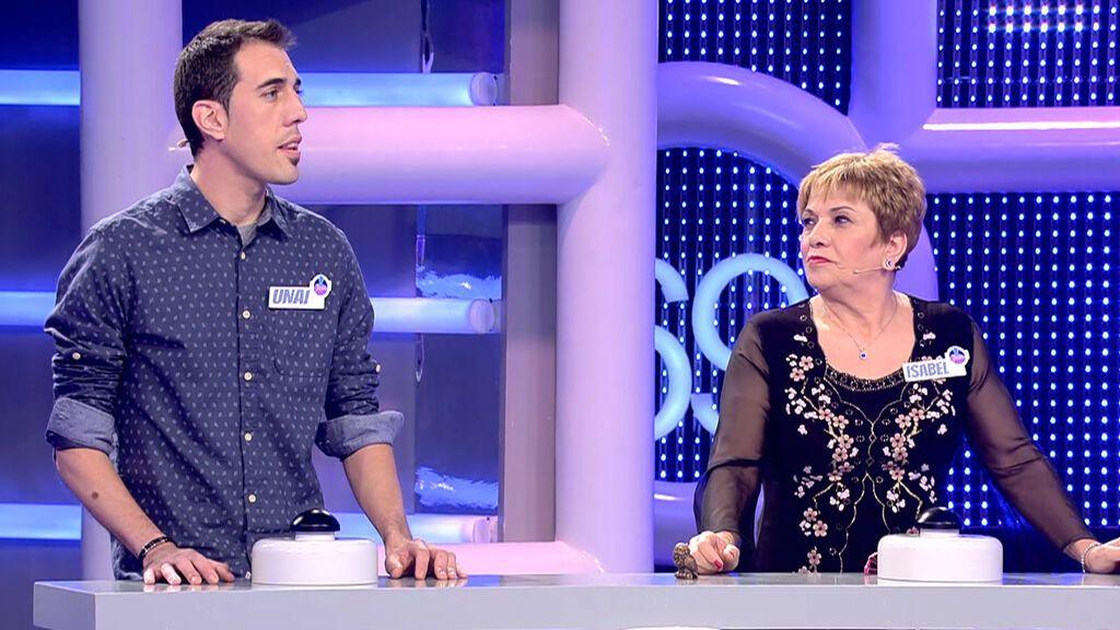 Isabel y Unai El concurso del año Temporada 3 Programa 501