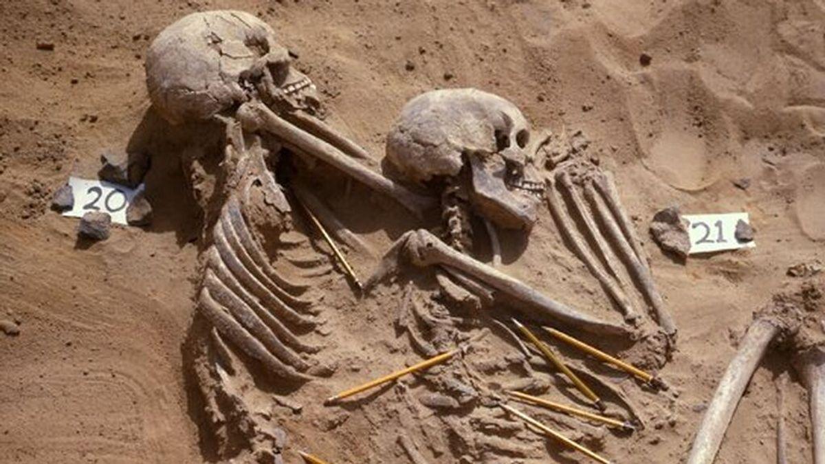 Los humanos ya morían en guerras prehistóricas, provocadas por el cambio climático