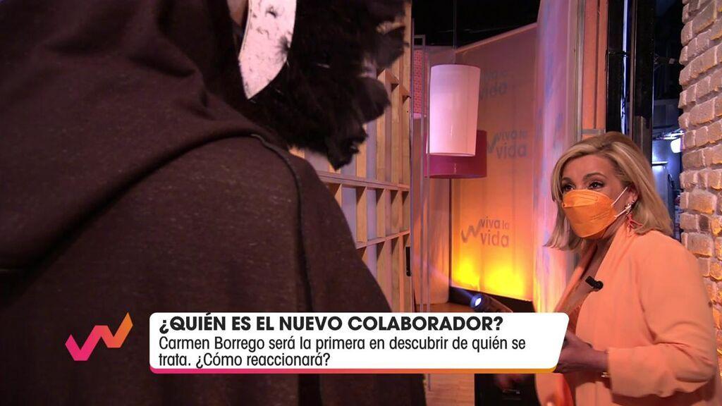 Carmen Borrego conoce al nuevo colaborador