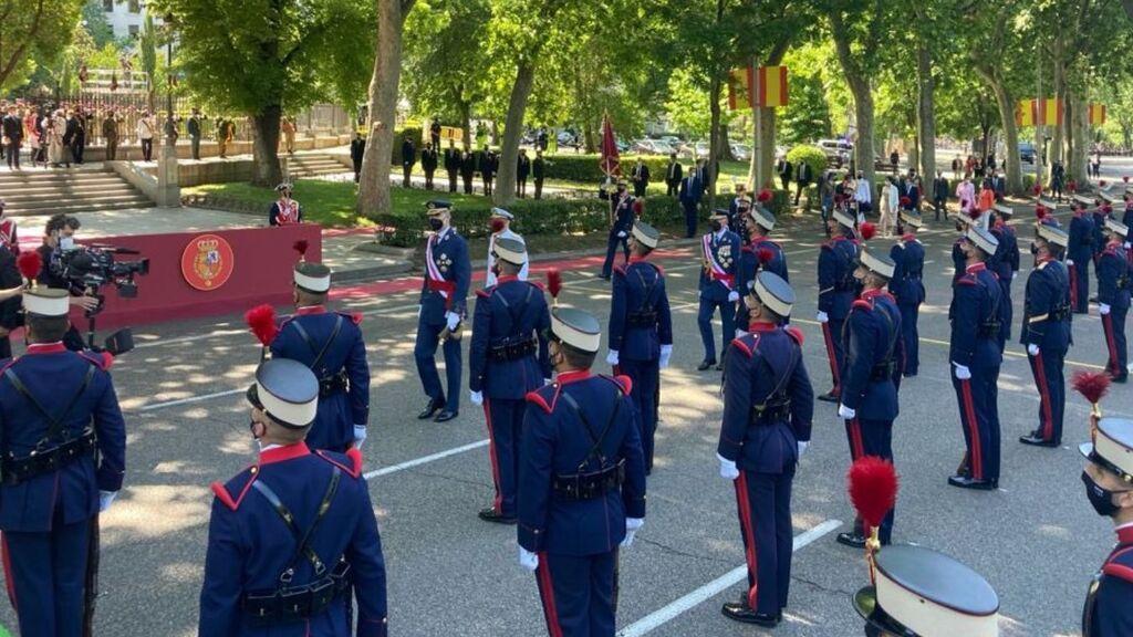 Los Reyes presiden en Madrid los actos por el Día de las Fuerzas Armadas