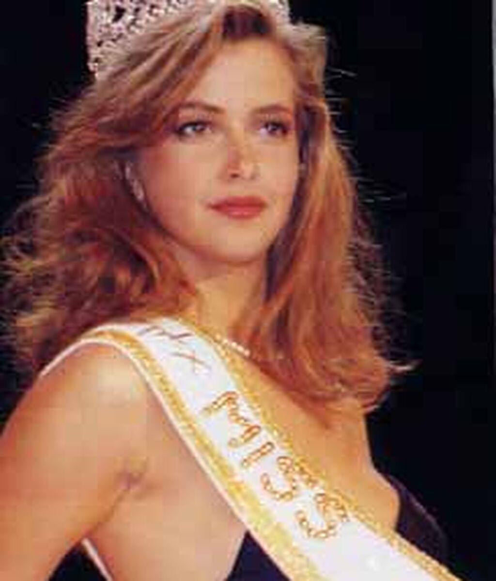 Sofía Mazagatos, ganadora de Miss España 1991