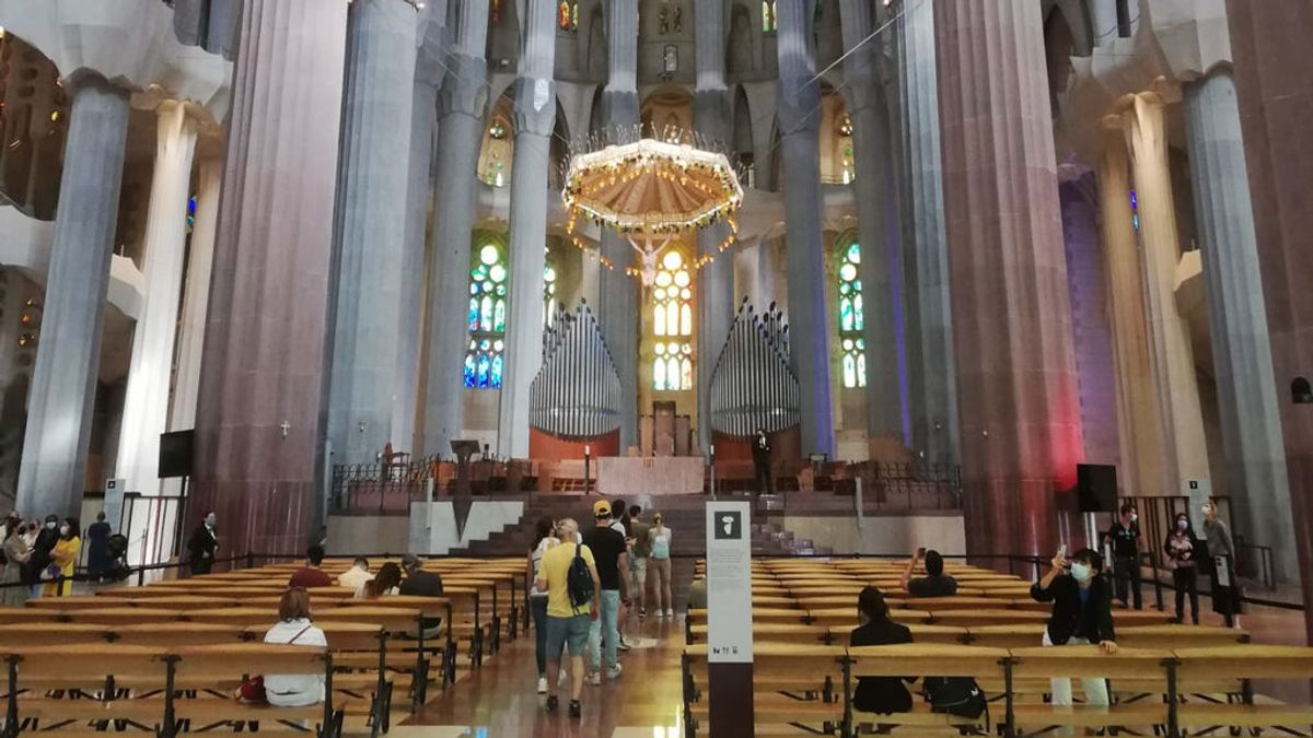 Reabre la Sagrada Familia tras siete meses de cierre al público