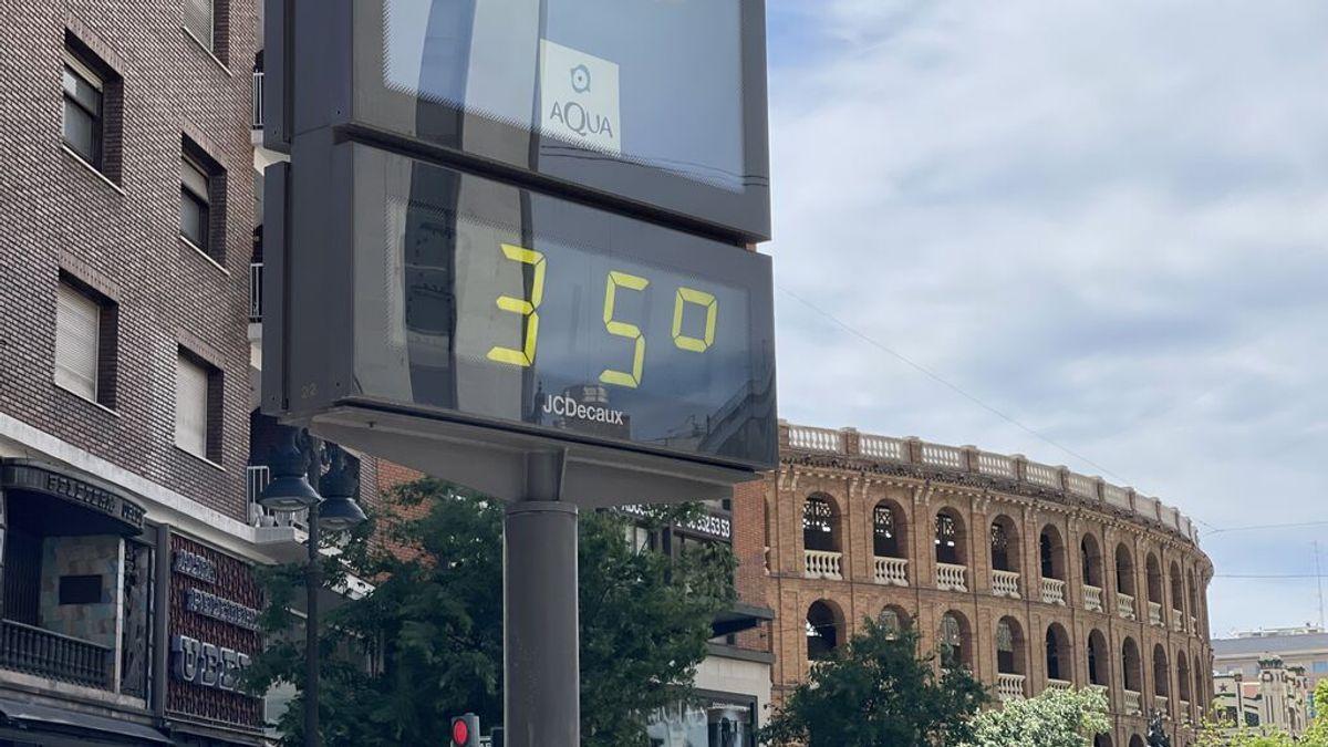 Las temperaturas serán superiores a lo habitual este domingo en la mitad suroeste, pudiendo superar los 36 grados