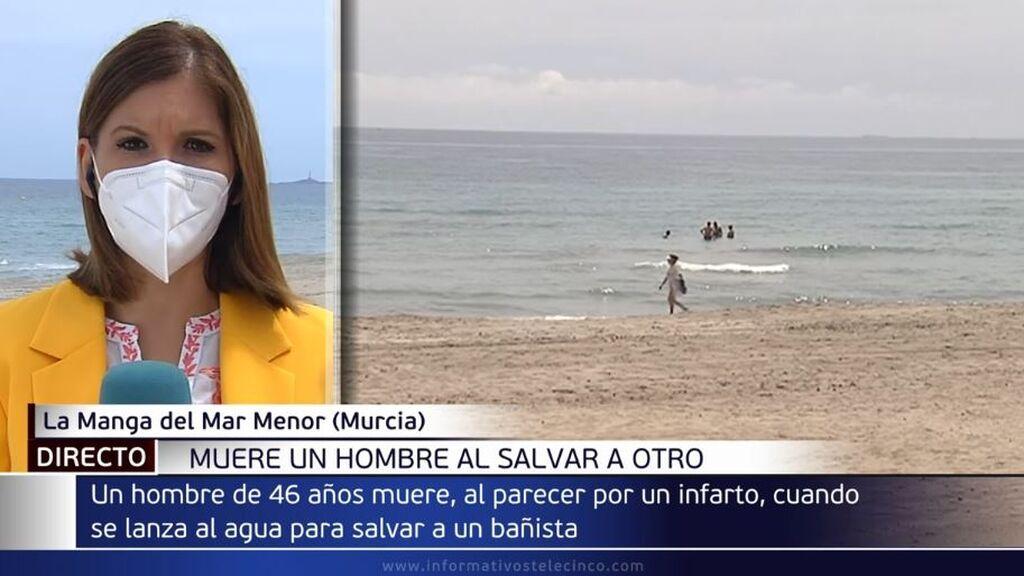 Muere un hombre de 46 años tras intentar salvar a otro de ahogarse en La Manga del Mar Menor
