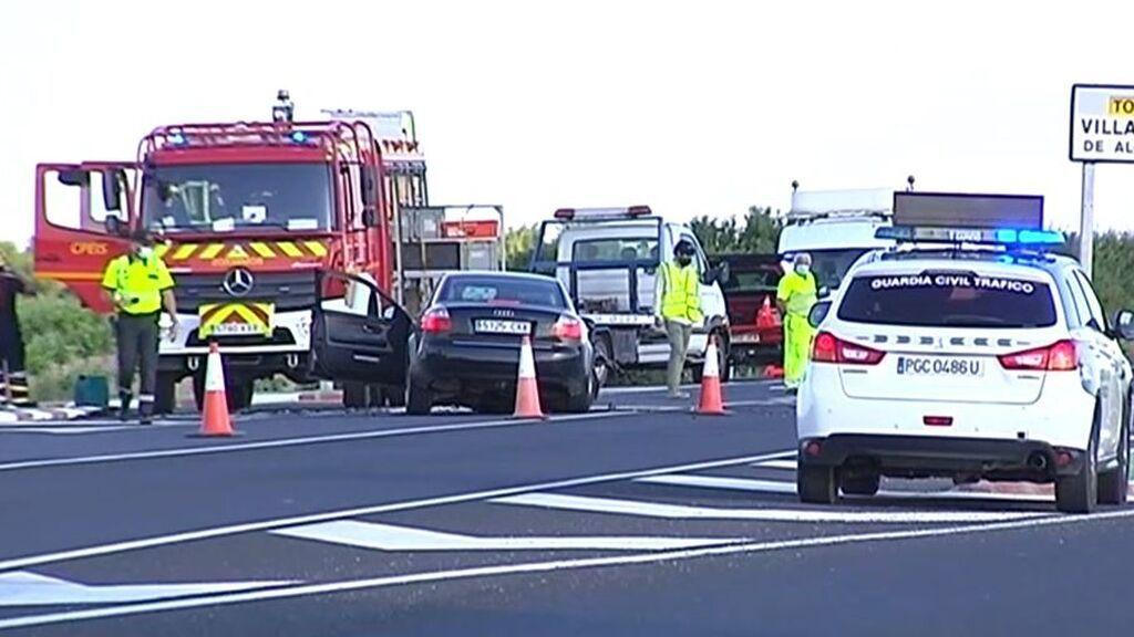 Mueren cuatro mujeres tras chocar dos coches en Toledo: el accidente deja otros tres heridos