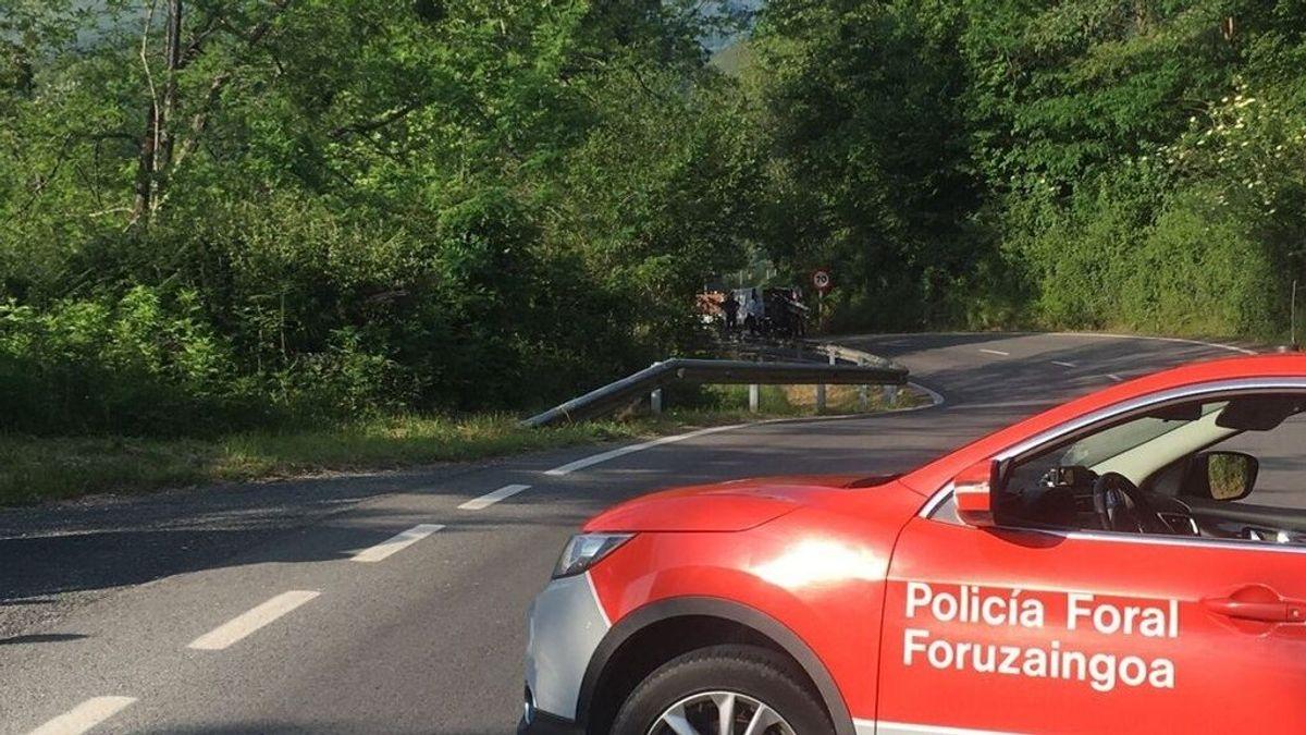 Detenido el autor de un atropello mortal a un ciclista en Navarra, que da positivo en alcoholemia