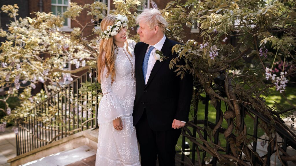 Boris Johnson se casa con su pareja Carrie Symonds en la catedral de Westminster