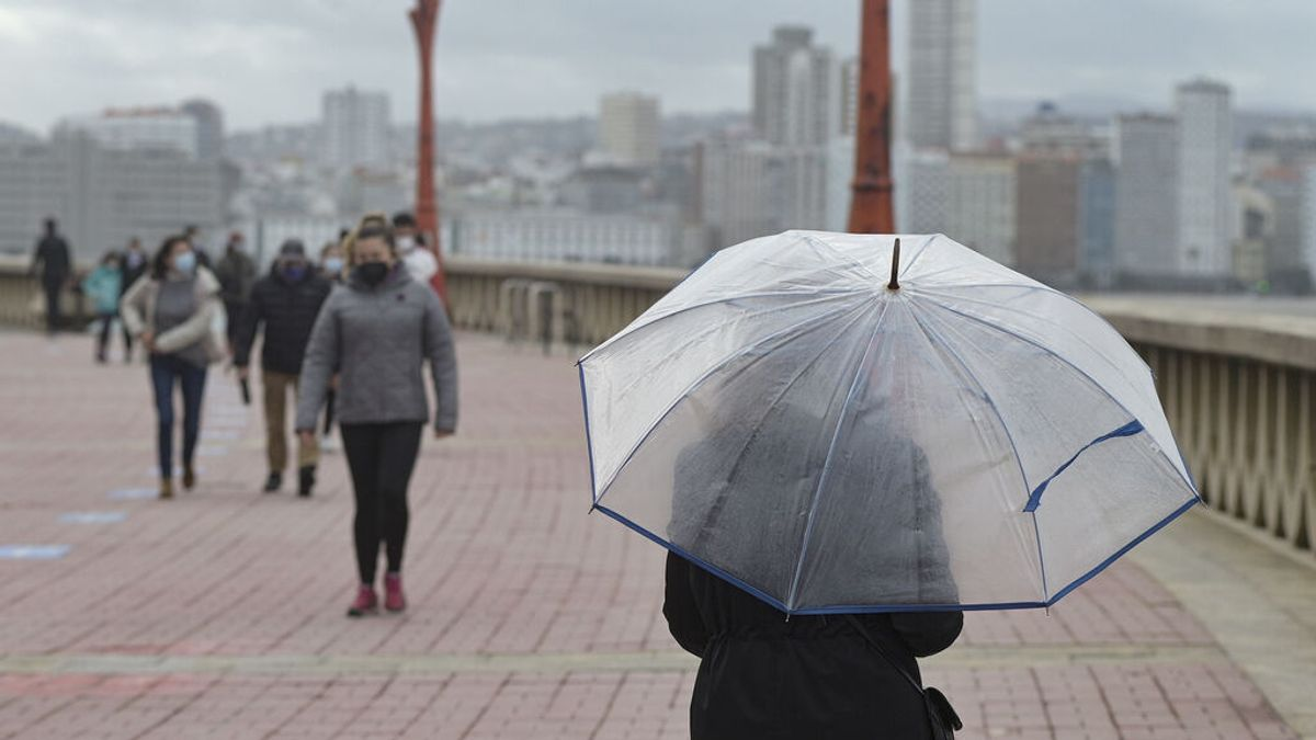 Las lluvias y tormentas tendrán en aviso este lunes a Asturias, Cantabria, Castilla y León y Galicia