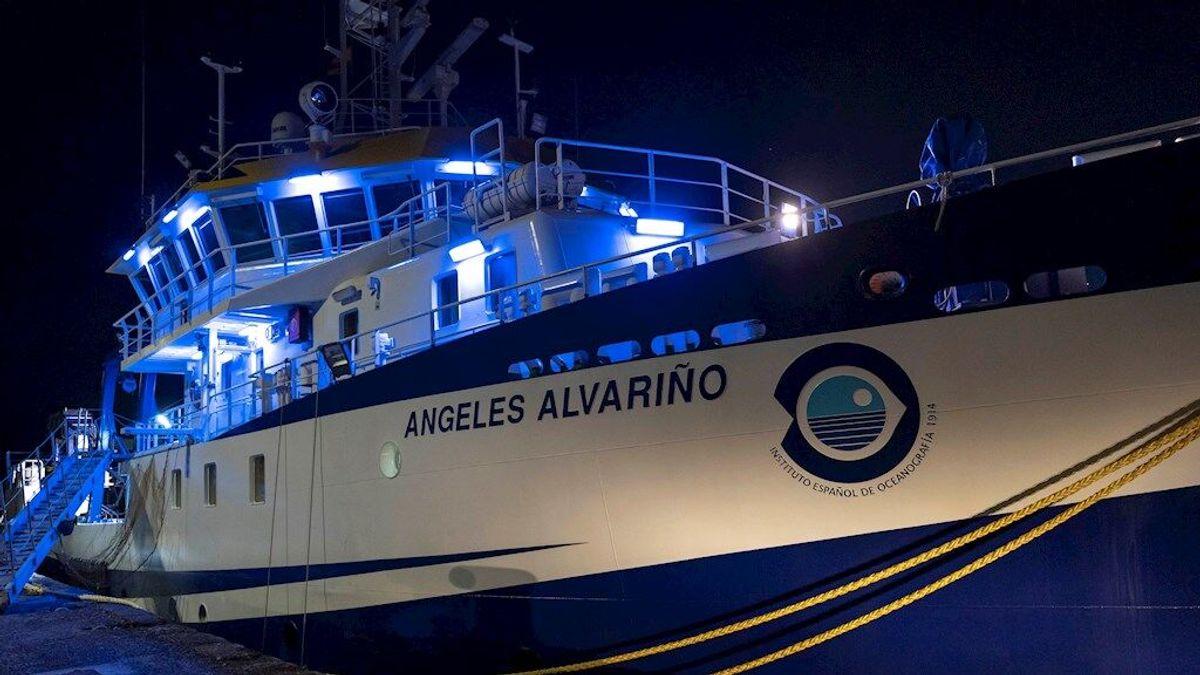 Un robot submarino busca a las niñas desaparecidas en Tenerife en la zona donde el padre se detuvo antes de regresar a puerto
