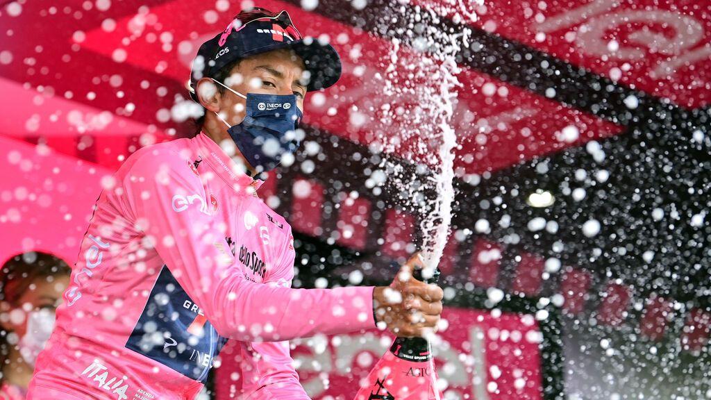 El colombiano Egan Bernal se adjudica el Giro de Italia