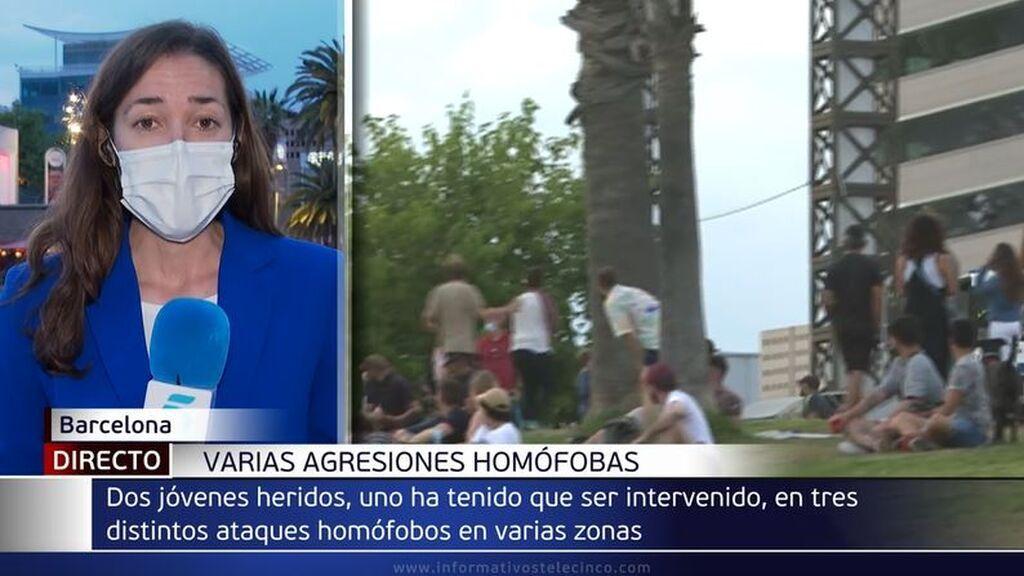 Tres agresiones homófobas en Barcelona en las últimas horas: una de las víctimas ha sido operada de urgencia