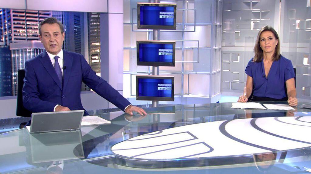 Con José Ribagorda y Ángeles Blanco Informativos Telecinco 2021 Noche 30/05/2021