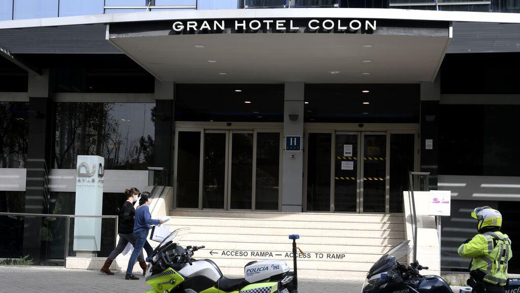 Madrid cerrará el hotel medicalizado  tras un año y medio con pacientes de covid