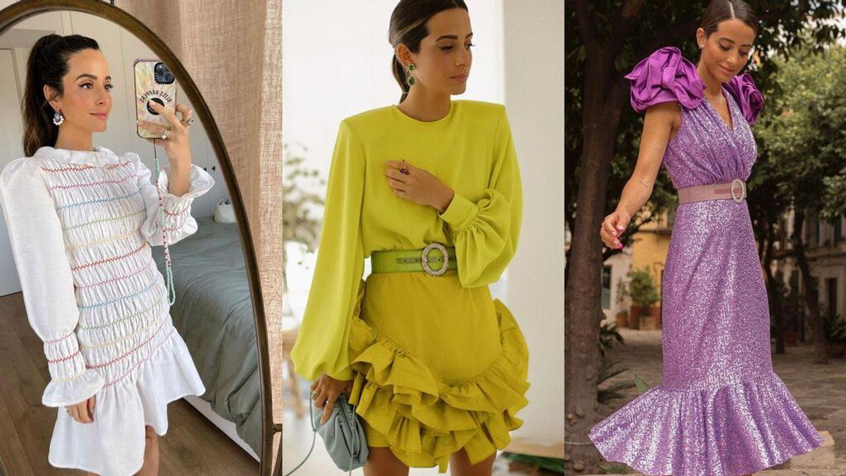 María F. Rubíes y sus mejores vestidos para lucir este verano en los eventos más especiales