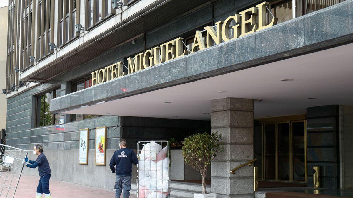 Roban una escultura y tres cuadros, uno de ellos de Sorolla, de una exposición en el hotel Miguel Ángel de Madrid