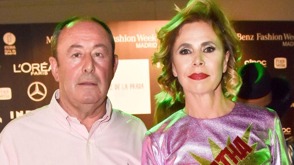 Ágatha Ruiz de la Prada ha vuelto con Luis Miguel Rodríguez 'El Chatarrero', según Jiménez Losantos