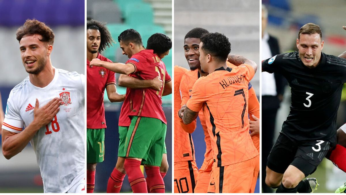 España-Portugal y Holanda-Alemania, las semifinales del Europeo Sub21