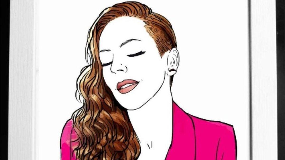 Retrato de Rocío Carrasco