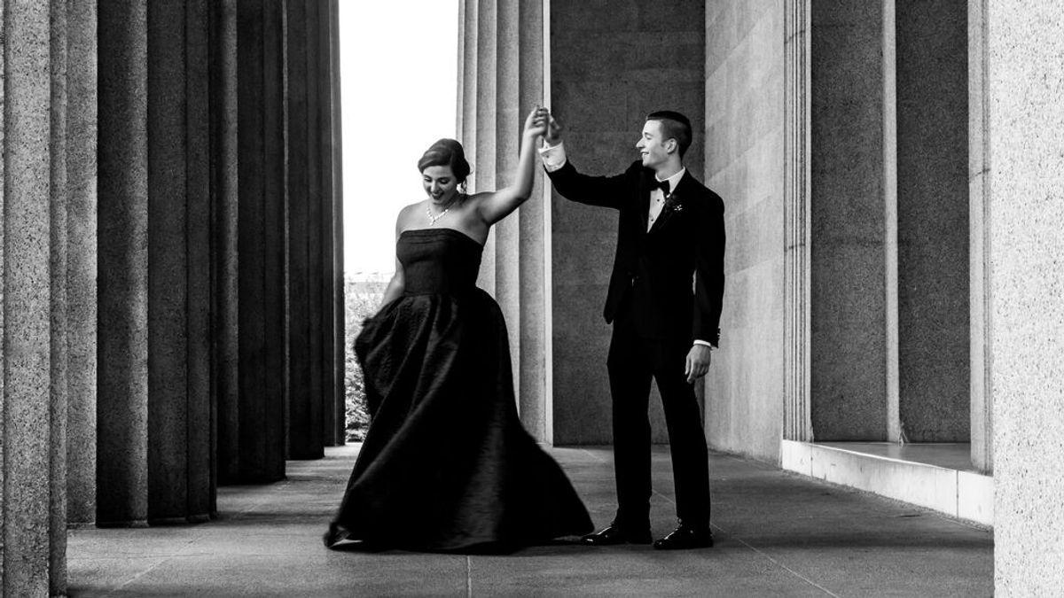 Casarse de negro: estos son los significados que tiene hoy en día optar por un vestido de ese color para tu boda