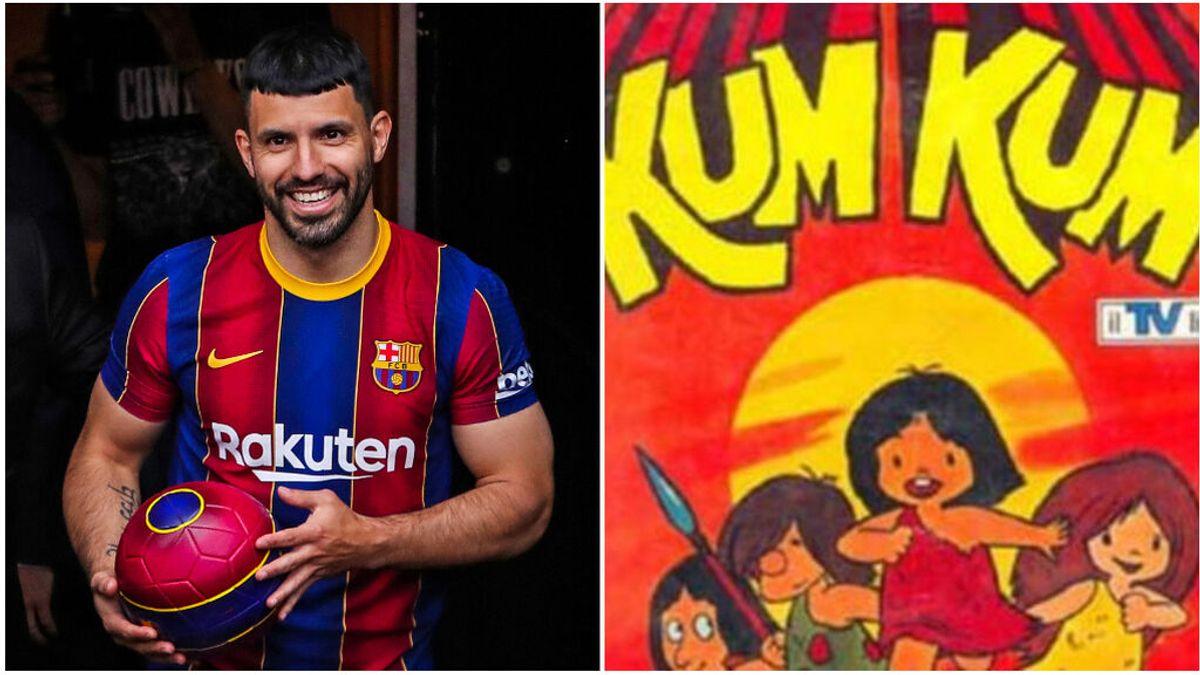 Su infancia con su abuelo y unos dibujos animados: la razón por la que llaman 'Kun' a Sergio Agüero