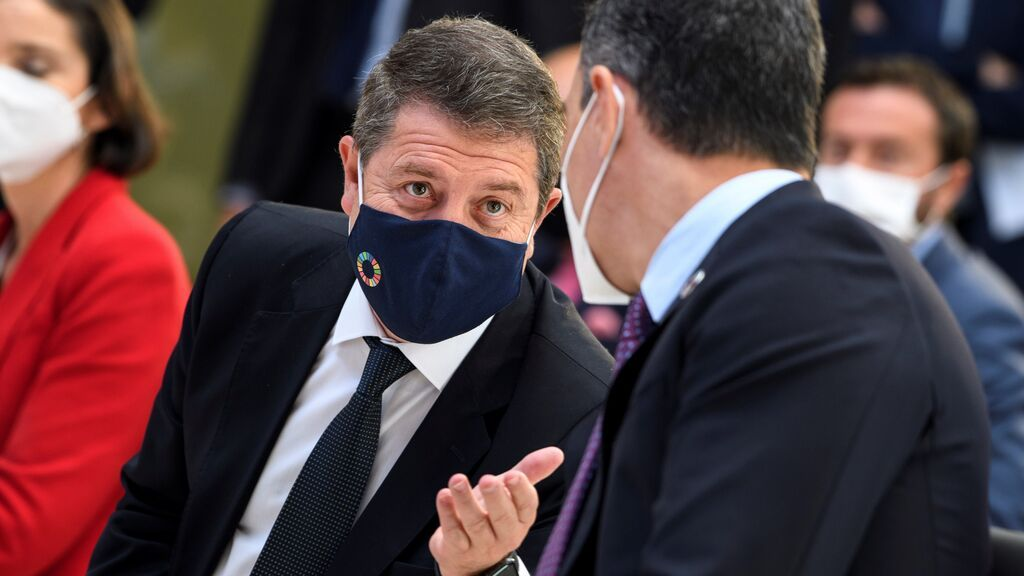García-Page quiere que la mascarilla deje de ser obligatoria al aire libre en Castilla-La Mancha ya en julio