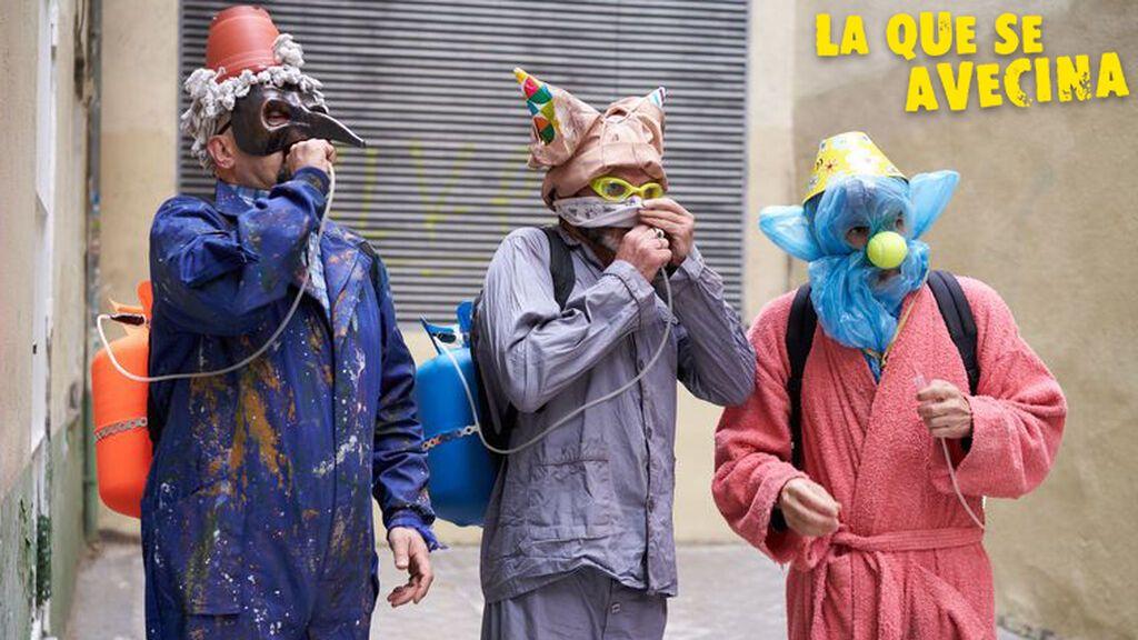 """Maratón de 'Los payasos justicieros' de 'LQSA': """"Somos el azote de los corruptos y héroes del pueblo"""""""