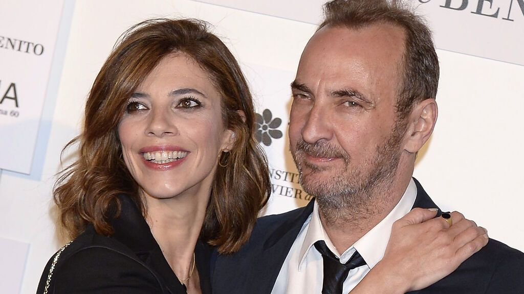 Maribel Verdú con su marido, Pedro Larrañaga