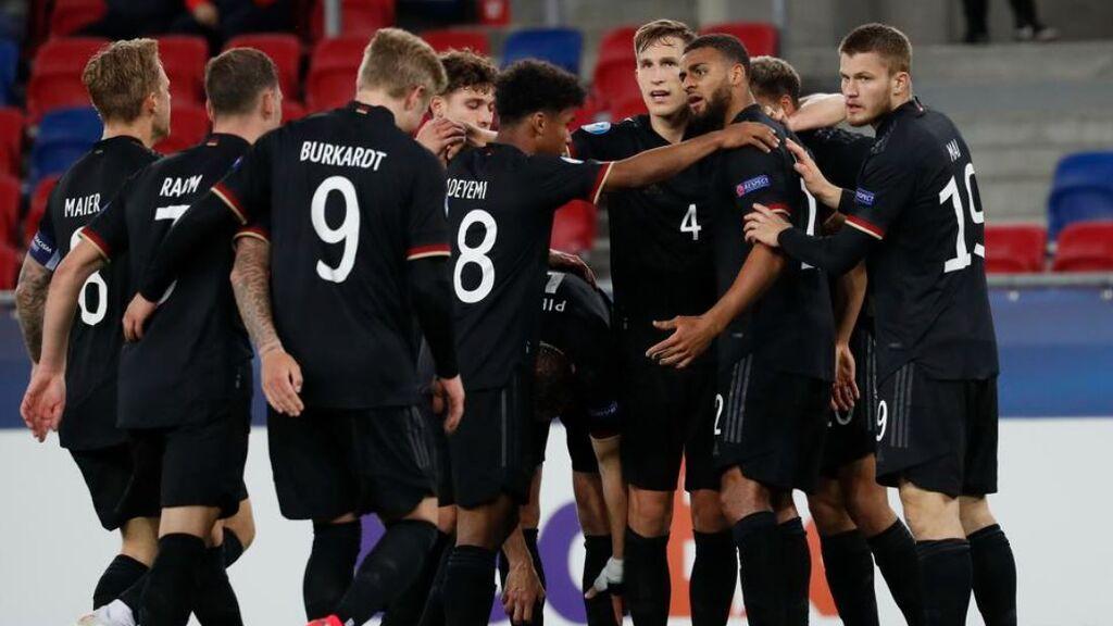 Alemania se clasificó en los penaltis.